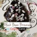 Peppermint Black Bean Brownie