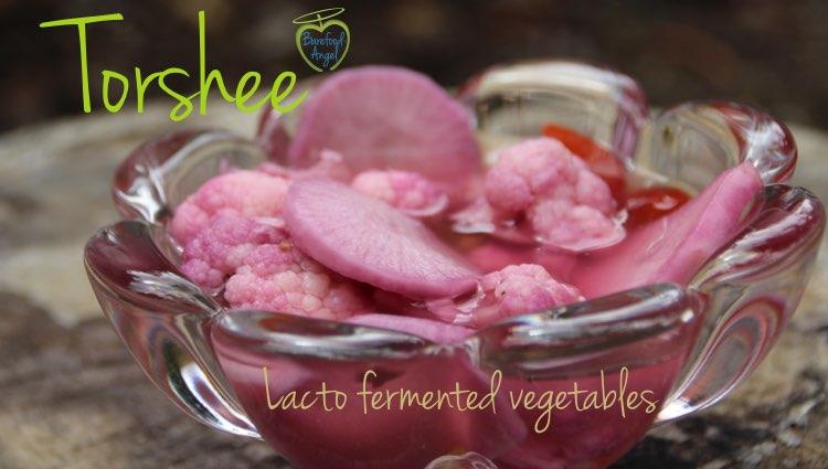 Torshee Lacto Fermented Vegetables