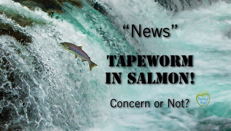 Is News of Tapeworm in Salmon Sensationalized?