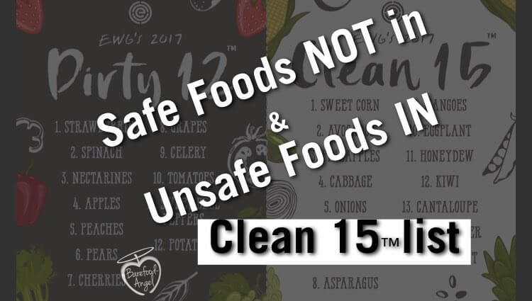 """Dirty"" Foods in Clean 15 ™ List"